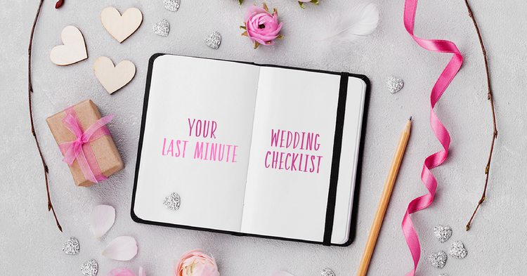 Greenberg's Last Minute Wedding Checklist