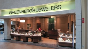Greenbergs Jewelers - Jordan Creek Town Center, West Des Moines, Iowa Location Picture