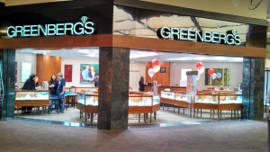 Greenbergs Jewelers - Valley West Mall, West Des Moines, Iowa Location Picture