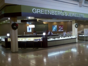 Greenbergs Jewelers - Westroads Mall, Omaha, Nebraska Location Picture